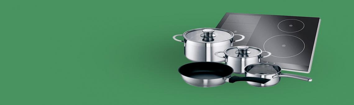 Free four piece induction pan